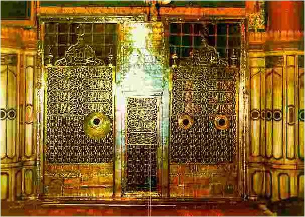 pintu makam Baginda Rasulullah saw